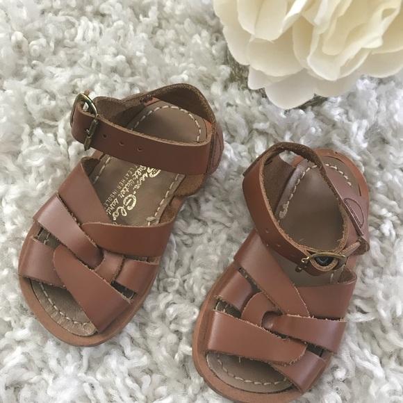 saltwater baby sandals